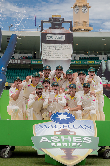 Australia complete their Ashes triumph at the SCG