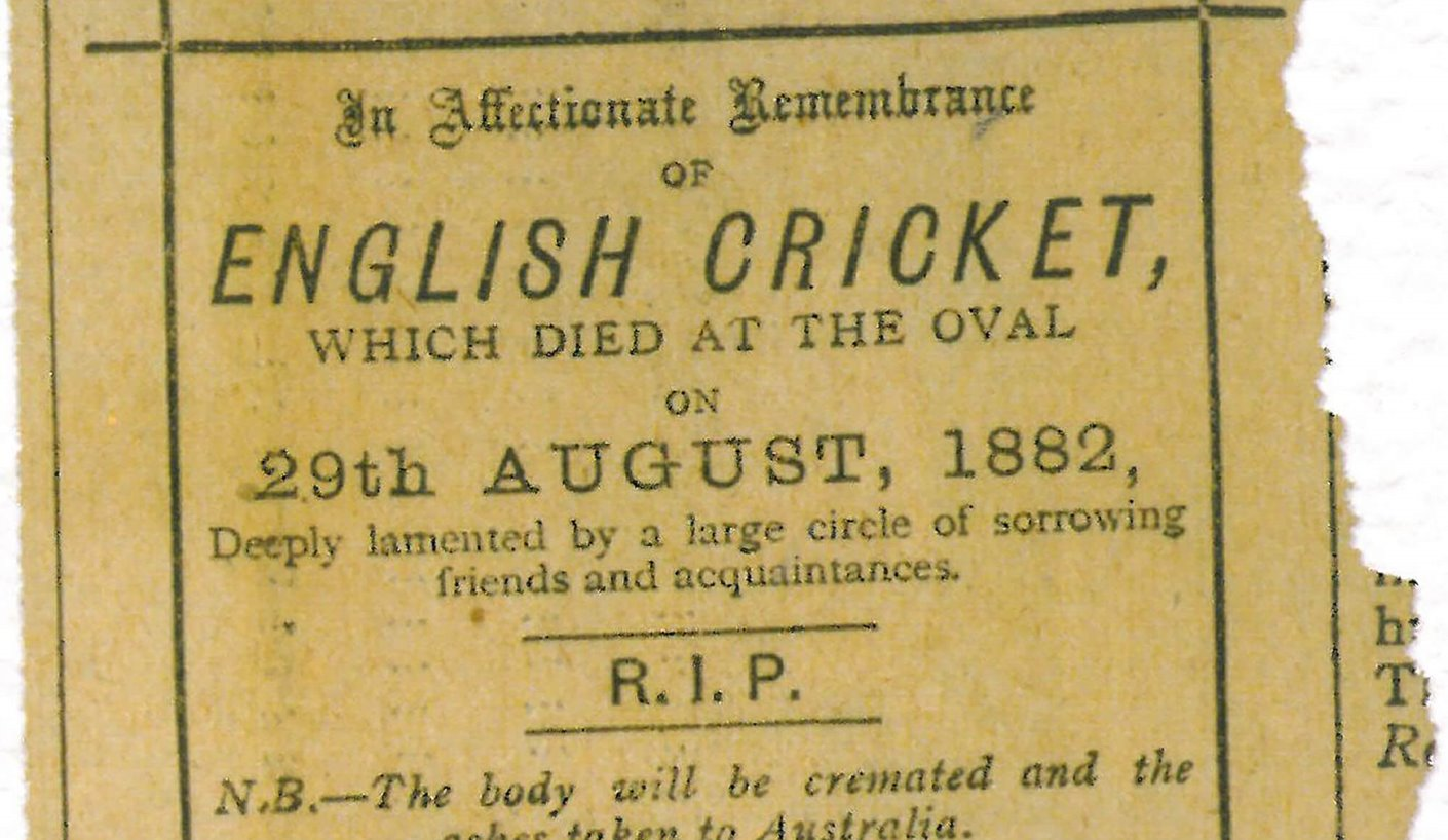 English Cricket Obituary in the Sporting Times