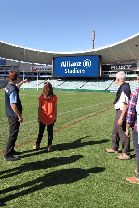 Guided tours of the SCG Trust precinct