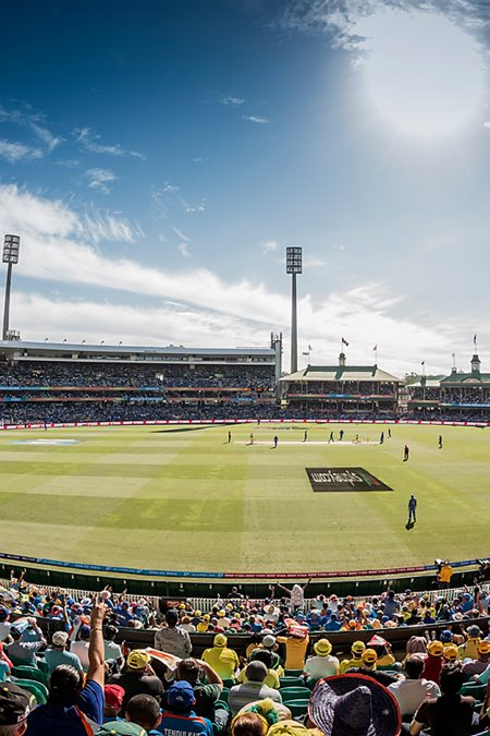 The ICC World T20 comes to the SCG