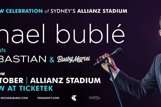 Guy Sebastian to join Michael Bublé for farewell