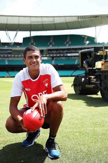 From SCG groundsman to Sydney Swans bolter