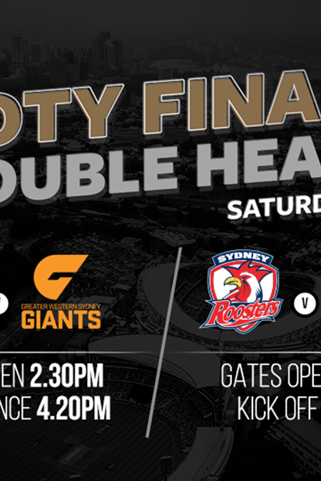 Take public transport to finals double header