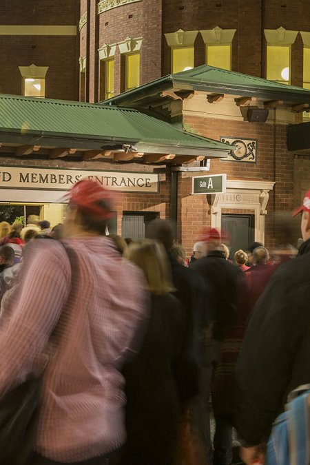 SCG Trust encourages fans to use clear bags
