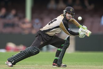 Tigers tune up for cricket finals series