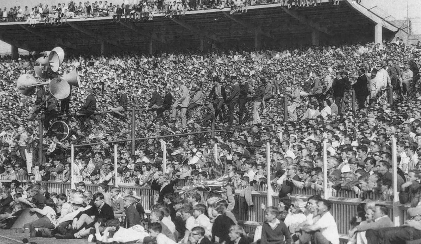 SCG rugby league crowd 1965