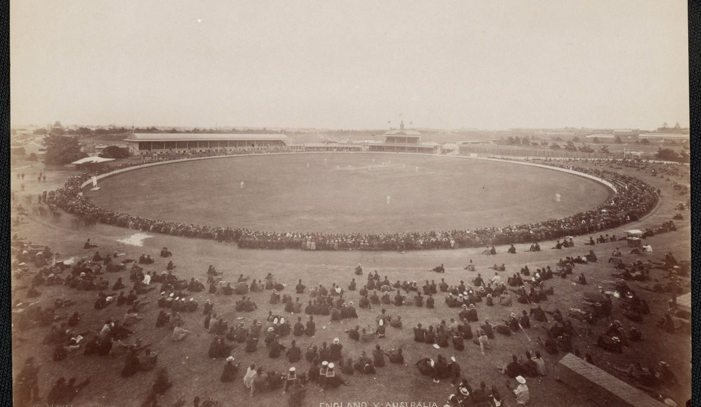 The 1892 Sydney Test taken from the hill
