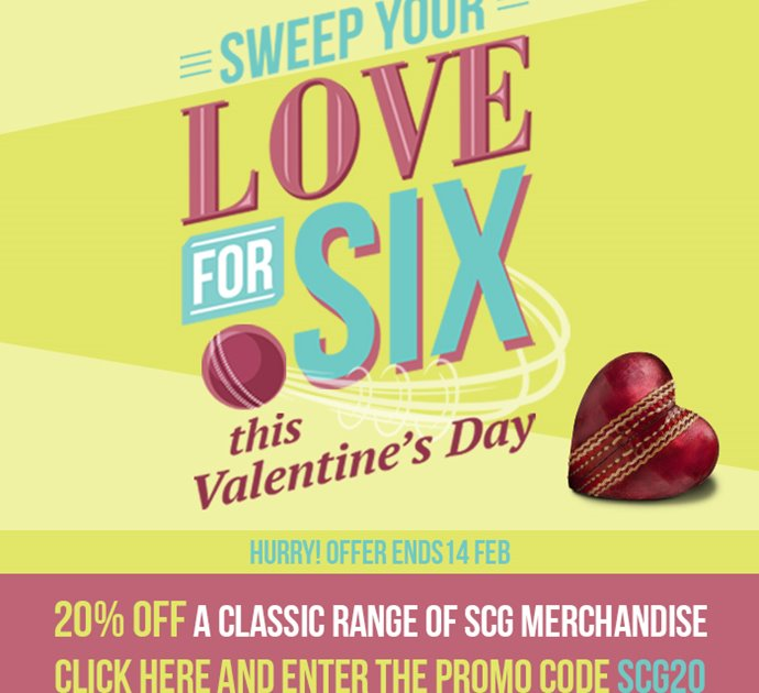Valentines day - merchandise offer