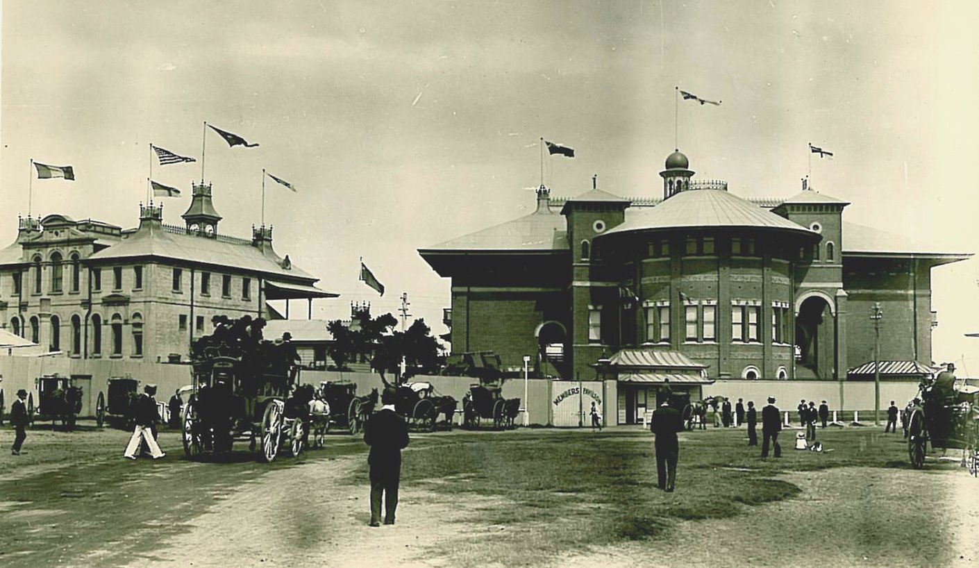 The famous ground circa 1894