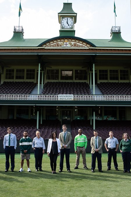 SCG launches new uniforms in time for Test