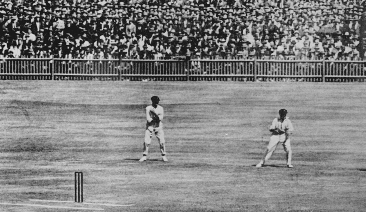 1924-25 One of the most famous wicketkeeper dismissals